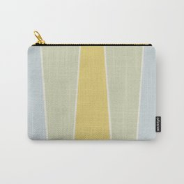 Soft Vintage Color Block Carry-All Pouch
