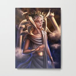 Angel Boy (Face) Metal Print