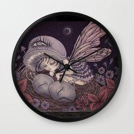 Fairy Dreaming Wall Clock