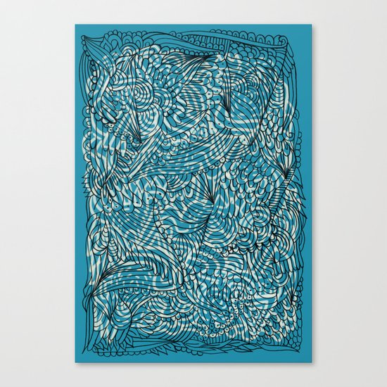 Sea of Everything Canvas Print