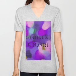 Continual Kindness Unisex V-Neck