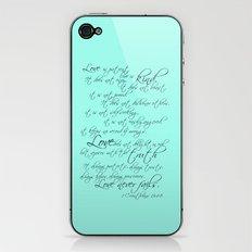 1 Corinthians iPhone & iPod Skin