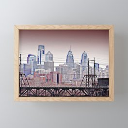 Philly Grit Framed Mini Art Print