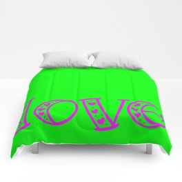 Love & Flashy Colors Comforters