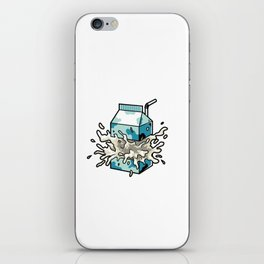 Milk iPhone Skin