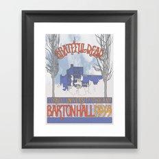 Barton Hall '77 Framed Art Print
