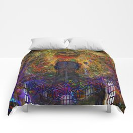 Solar Crown Chakra Comforters