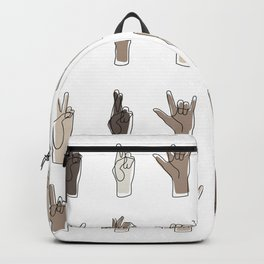 All We Have To Say Backpack