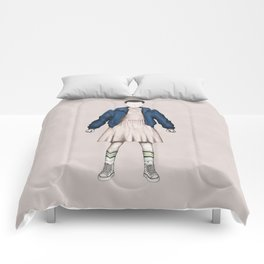 Eleven without a face (Stranger T.) Comforters