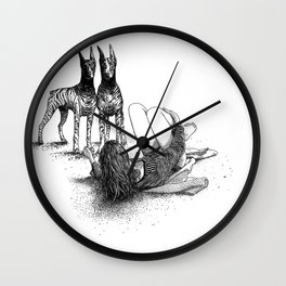 asc 545 - Sketchwork (Fooling around with the boys) Wall Clock