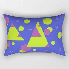 Over the hills and to the stars Rectangular Pillow