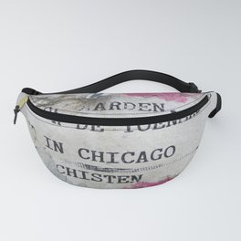 Urban poetry Fanny Pack