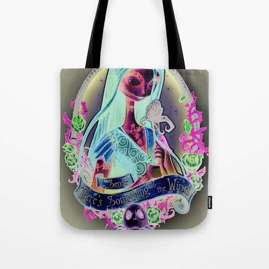 """Something In the Wind"" Tote Bag"