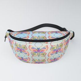 Butterfly V on a Summer Day Fanny Pack