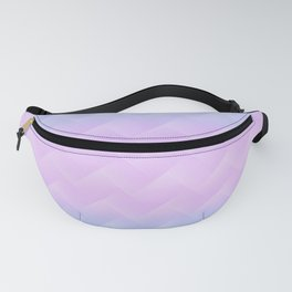 Chevron Candy floss Fanny Pack