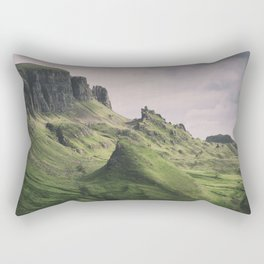 The Majesty of the Quiraing Rectangular Pillow