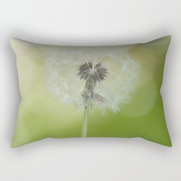 Dandelion in LOVE- Flower Floral Flowers Spring Rectangular Pillow