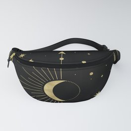 The Moon or La Lune Gold Edition Fanny Pack