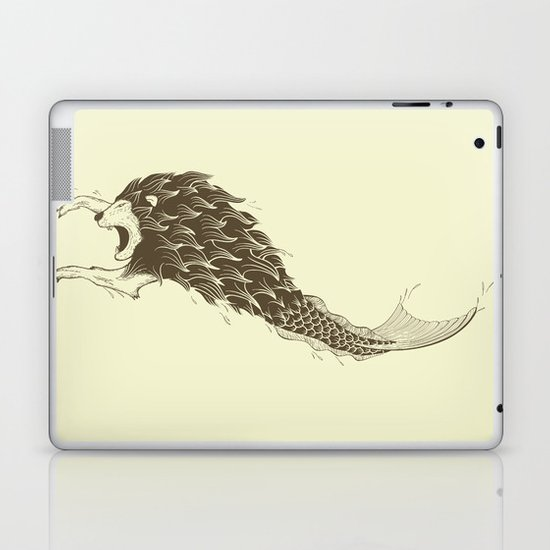 Merlion Laptop & iPad Skin