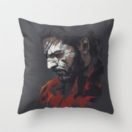 MGSV.Venom Snake Throw Pillow