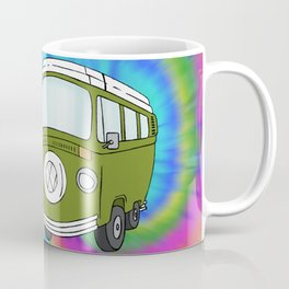 Camper Bus Not All Who Wander Are Lost Coffee Mug