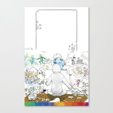 you're COLOR - Page 10 Canvas Print