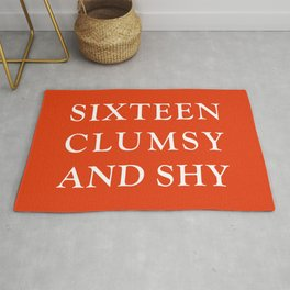 Sixteen Clumsy And Shy Rug