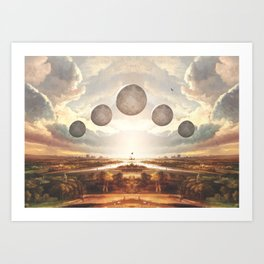 Vanishing point Art Print