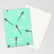 Dragonfly pattern Stationery Cards
