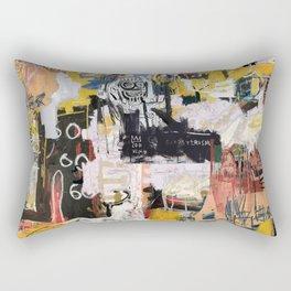 Basquiat World Rectangular Pillow