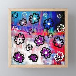 Brane flowers S33 Framed Mini Art Print