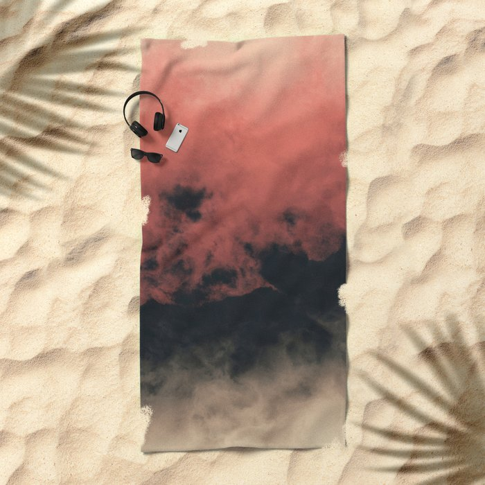 Zero Visibility Dust Beach Towel