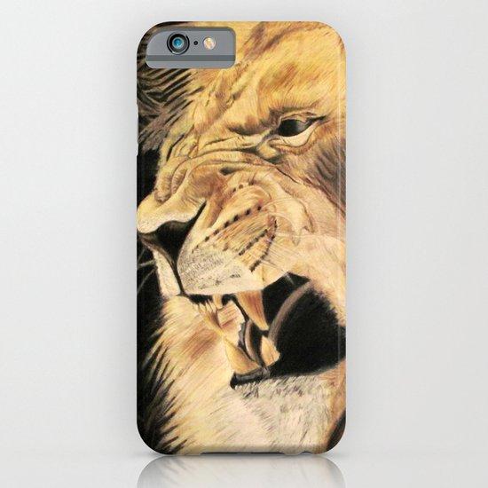 A Lion's Voice iPhone & iPod Case