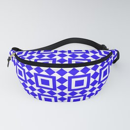 Moroccan Tiles Cerulean Fanny Pack