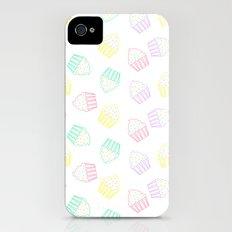 pastel cupcakes  iPhone (4, 4s) Slim Case