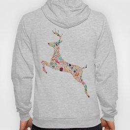 Christmas reindeer 5 Hoody