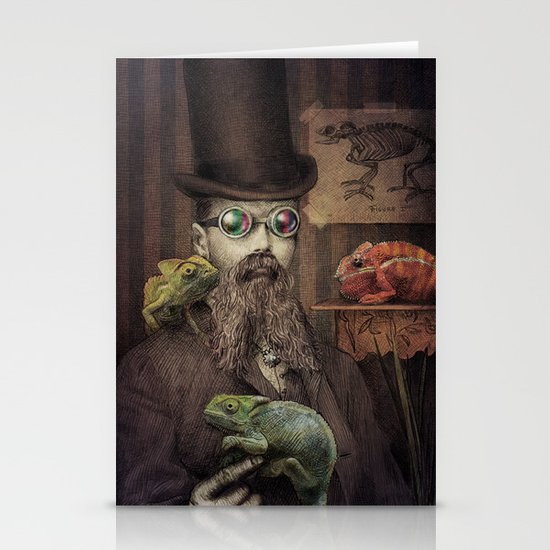 The Chameleon Collector Stationery Cards