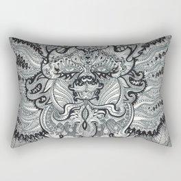 Trippy Kitty Rectangular Pillow