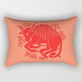 taurus zodiac Rectangular Pillow