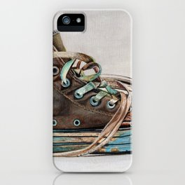 My Old Friends iPhone Case