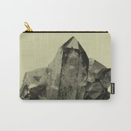 Vintage Crystal Mineral Carry-All Pouch