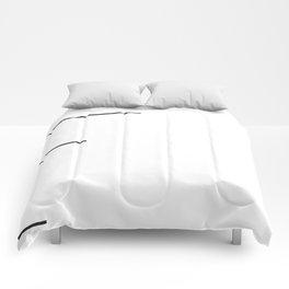 Graphic Art Comforters