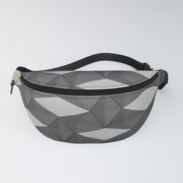 Trapez 3/5 Grey by Brian Vegas Fanny Pack