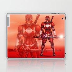 Red Ranger Laptop & iPad Skin