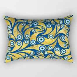 Nazar Amulet Paisley pattern #2 Rectangular Pillow
