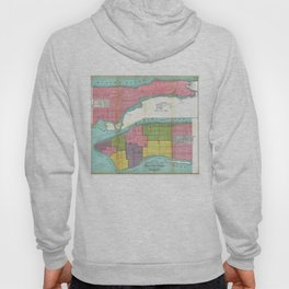 Vintage NYC Fire Department Map (1871)  Hoody