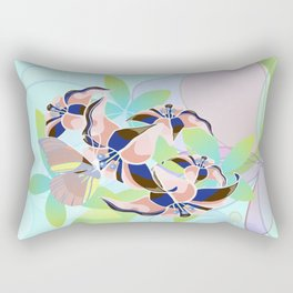 Tanz der Lilien - Dance of the Lilies Rectangular Pillow