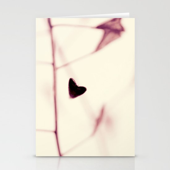 nature's little sweet hearts Stationery Cards