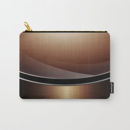 Wood Carbon Pattern Carry-All Pouch