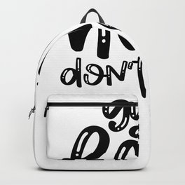 Gym Design Gym Hair Don't Care Backpack